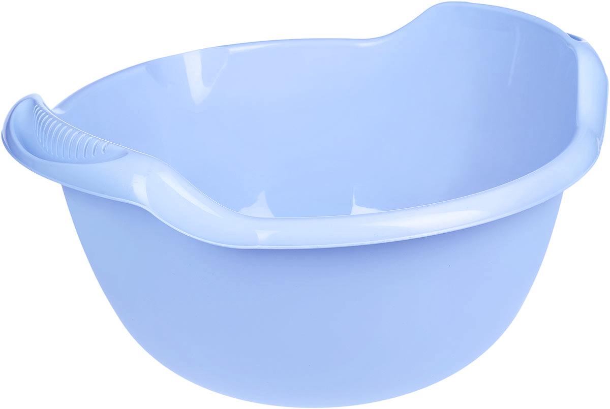 Таз Idea, с ручками, цвет: голубой, 24 лМ 2508Таз Idea выполнен из прочного пластика. Он предназначен для стирки и хранения разных вещей. Также в нем можно мыть фрукты. Для удобства таз снабжен двумя ручками.Такой таз пригодится в любом хозяйстве.Размер таза: 47 х 51 х 26 см.