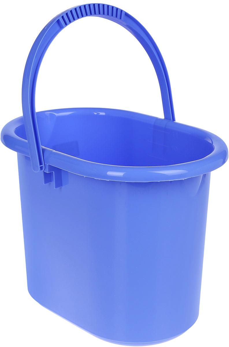Ведро хозяйственное Idea, овальное, цвет: сиреневый, 11 лRC-100BPCВедро Idea изготовлено из высококачественного прочного полипропилена. Оно легче железного и не подвержено коррозии. Изделие универсально, его можно использовать в качестве ведра для мыться полов, а также в качестве мусорного ведра. Ведро оснащено удобной пластиковой ручкой для переноски. Внутри имеется мерная шкала. Такое ведро станет незаменимымпомощником в хозяйстве.Размер (по верхнему краю): 33 х 23,5 см.Высота: 26,5 см.