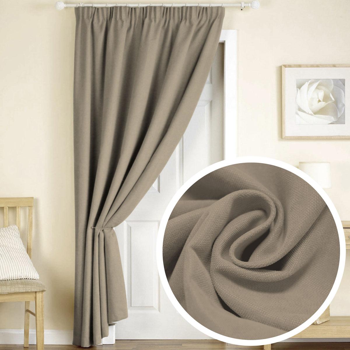 Штора Amore Mio, на ленте, цвет: молочно-коричневый, высота 270 смS03301004Готовая штора Amore Mio - это роскошная портьера для яркого и стильного оформления окон и создания особенной уютной атмосферы. Она великолепно смотрится как одна, так и в паре, в комбинации с нежной тюлевой занавеской, собранная на подхваты и свободно ниспадающая естественными складками.Такая штора, изготовленная полностью из прочного и очень практичного полиэстера, долговечна и не боится стирок, не сминается, не теряет своего блеска и яркости красок.