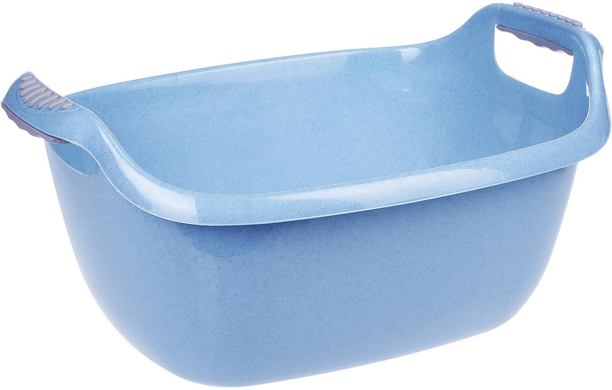 Таз Idea, овальный, цвет: голубой, 22 л787502Овальный таз Idea изготовлен из высококачественного полипропилена и эластана. Таз устойчив к ударным нагрузкам. Вогнутая форма на боковой поверхности таза дает дополнительную жесткость и прочность. Удобно выполненная конструкция ручки позволяет с комфортом переносить содержимое. Он предназначен для замачивания и стирки белья. Таз пригодится в любом хозяйстве.Размер: 55 х 41 х 25 см.