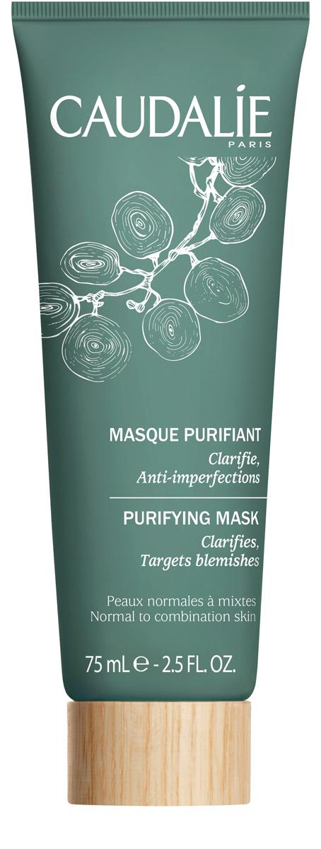 Caudalie Очищающая маска для нормальной и комбинированной кожи лица 75млFS-00897Очищающая маска – идеальный партнёр жирной или комбинированной кожи с несовершенствами. Маска, тщательно дозированная абсорбирующими активными ингредиентами, позволяет регулировать деятельность кожи, глубоко очищает поры. Необыкновенно эффективная формула, натуральная на 94%, позволяет коже становиться нежной, чистой и избавляться от жирного блеска.
