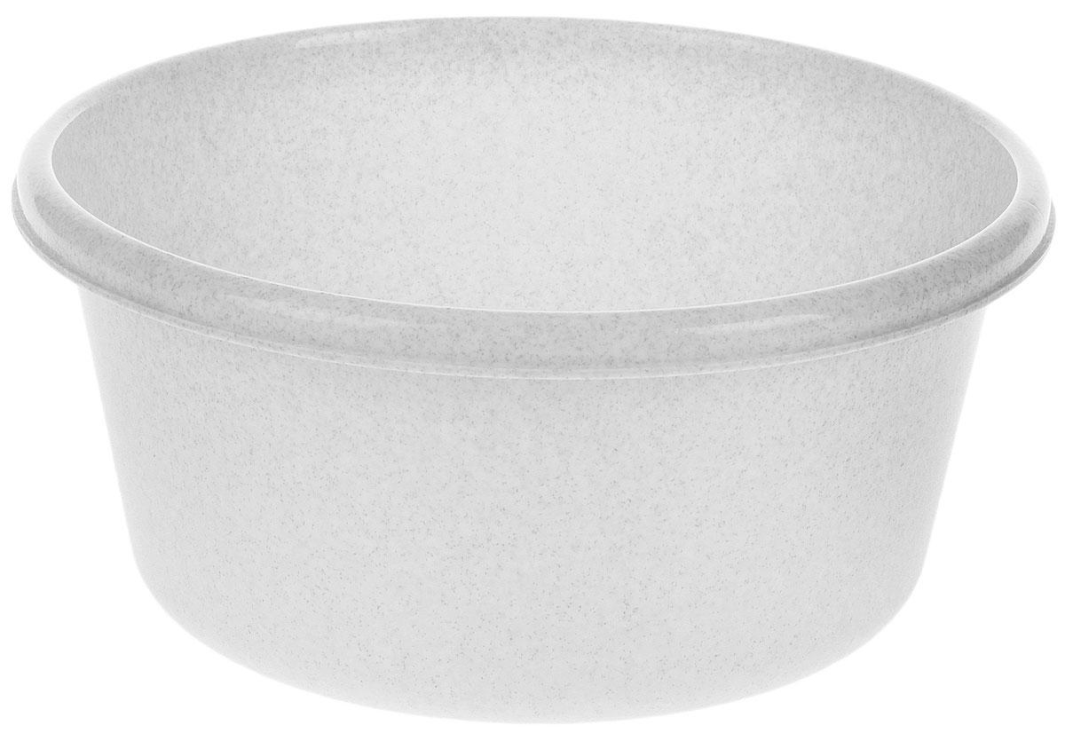 Таз Idea, круглый, цвет: мраморный, 14 лМ 2514Таз Idea выполнен из прочного пластика. Он предназначен для стирки и хранения разных вещей. Также в нем можно мыть фрукты. Такой таз пригодится в любом хозяйстве.Диаметр таза (по верхнему краю): 37 см. Высота стенки: 15 см.