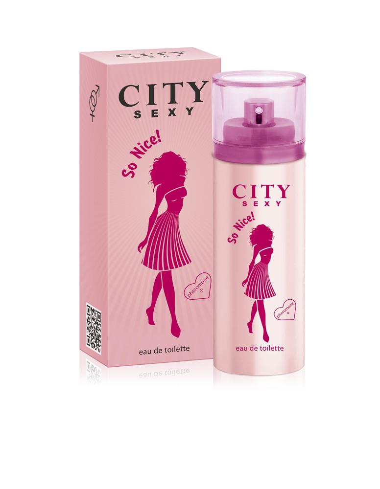 City Parfum City Sexy So Nice! Туалетная вода 60 мл city woman amor туалетная вода 60 мл