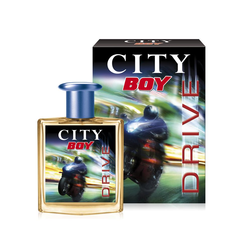 City Parfum,City Boy Drive, туалетная вода 50 мл2218Аромат CITY BOY DRIVE – это скорость и динамика, наполняющая решимостью и энергией движения! Аромат дарит вихрь нот бергамота, лаванды и арбуза, позволяющий сохранить равновесие в головокружительной гонке