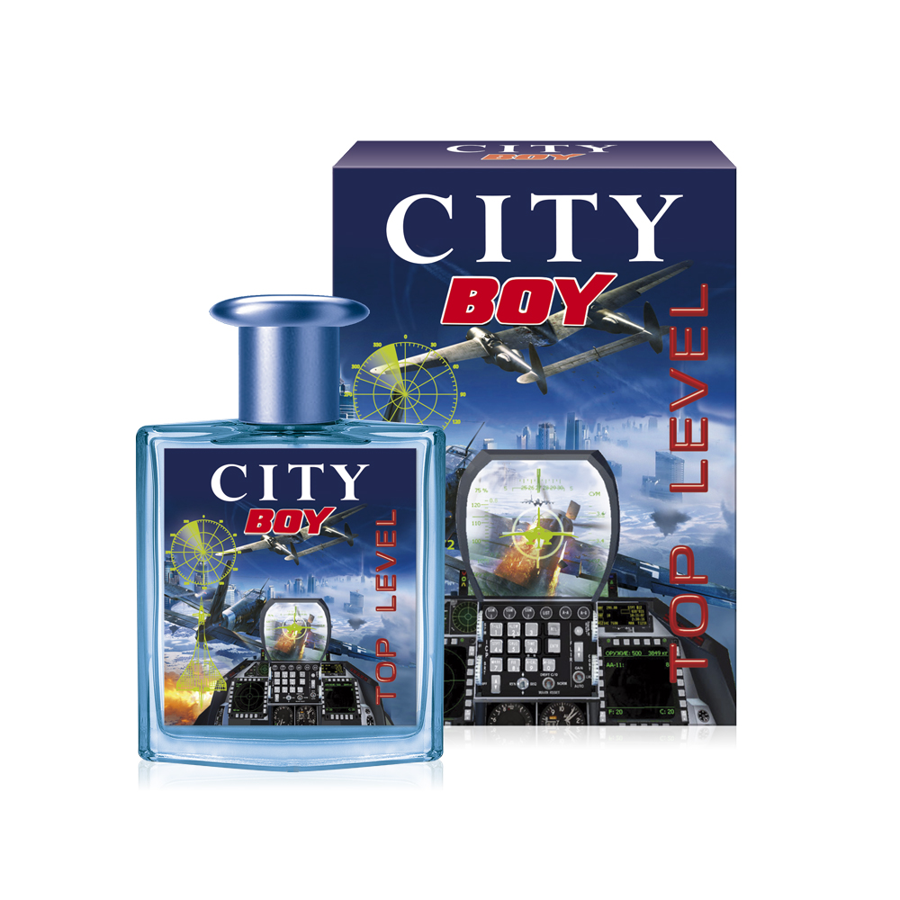 City Parfum,City Boy Top Level, туалетная вода 50 мл