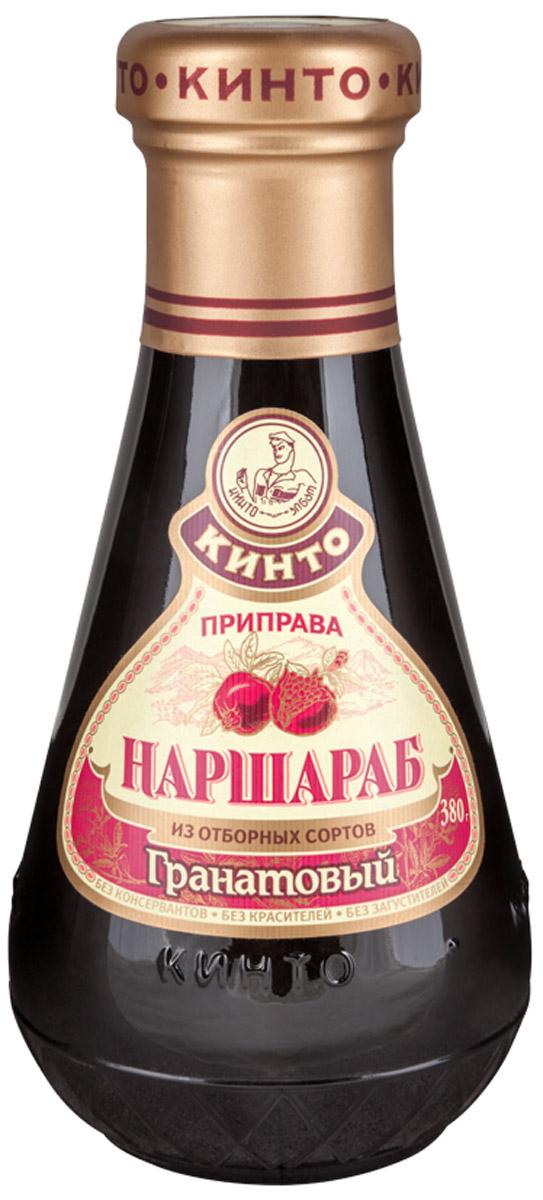Кинто Наршараб соус гранатовый, 380 г0120710Гранатовый соус Кинто Наршараб производится исключительно из культурного и дикорастущего граната, произрастающего в Азербайджане. Не содержит ГМО, красителей, загустителей и консервантов. Соус обладает изысканным, терпким, приятным и пикантным вкусом. Гранатовый соус великолепно подходит к мясным и рыбным блюдам и способен покорить сердце любого гурмана.
