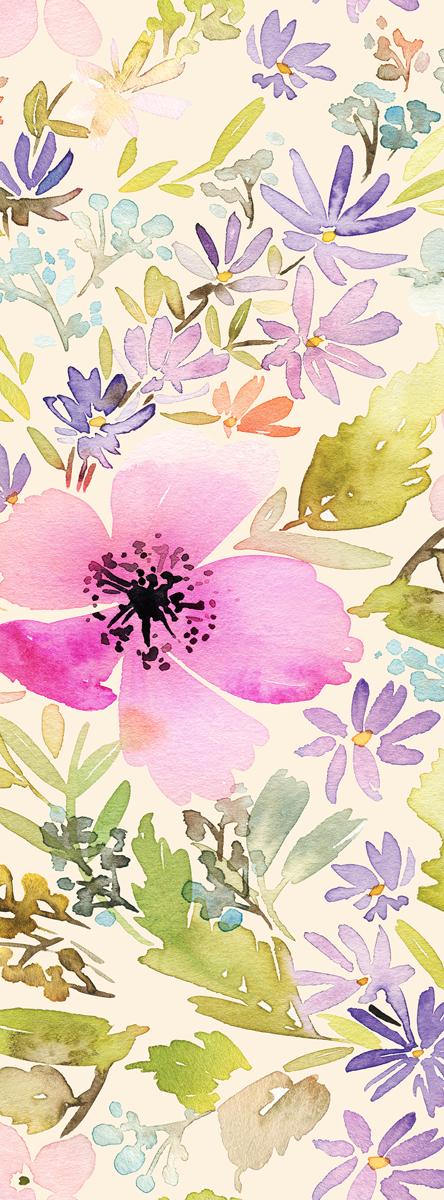 Фотообои Barton Wallpapers Цветы, 100 x 270 см. F0200174-0120Фотообои Barton Wallpapers позволят создать неповторимый облик помещения, в котором они размещены. Фотообои наносятся на стены тем же способом, что и обычные обои. Рельефная структура основы делает фотообои необычными, неповторимыми, глубокими и манящими.Фотообои снова вошли в нашу жизнь, став модным направлением декорирования интерьера. Выбрав правильную фактуру и сюжет изображения можно добиться невероятного эффекта живого присутствия.