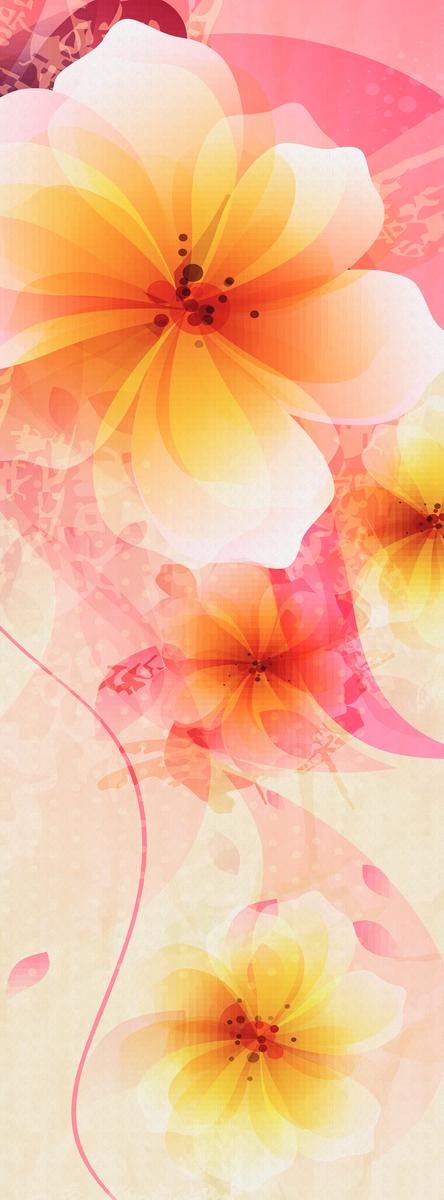 Фотообои Barton Wallpapers Цветы, 100 x 270 см. F2840112723Фотообои Barton Wallpapers позволят создать неповторимый облик помещения, в котором они размещены. Фотообои наносятся на стены тем же способом, что и обычные обои. Рельефная структура основы делает фотообои необычными, неповторимыми, глубокими и манящими.Фотообои снова вошли в нашу жизнь, став модным направлением декорирования интерьера. Выбрав правильную фактуру и сюжет изображения можно добиться невероятного эффекта живого присутствия.