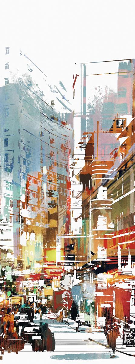 Фотообои Barton Wallpapers Города, 100 x 270 см. U0760174-0120Фотообои Barton Wallpapers позволят создать неповторимый облик помещения, в котором они размещены. Фотообои наносятся на стены тем же способом, что и обычные обои. Рельефная структура основы делает фотообои необычными, неповторимыми, глубокими и манящими.Фотообои снова вошли в нашу жизнь, став модным направлением декорирования интерьера. Выбрав правильную фактуру и сюжет изображения можно добиться невероятного эффекта живого присутствия.