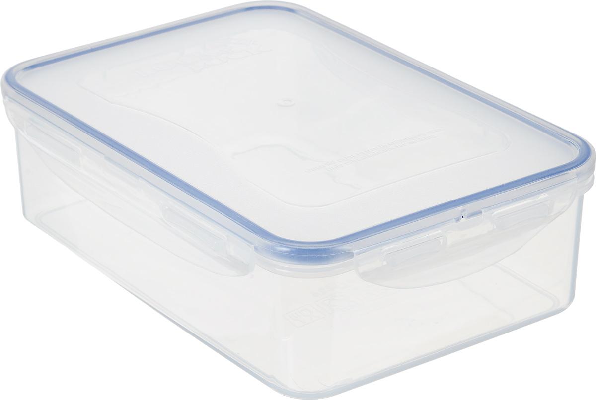 Контейнер пищевой Lock&Lock Classics, 1,6 л21395599Контейнер Lock&Lock Classics изготовлен из высококачественного пластика, который не содержит Бисфенол-А, не выделяет вредных веществ. Герметичная пластиковая крышка снабжена уплотнительной резинкой, надежно закрывается с помощью четырех защелок. Контейнер с абсолютной непроницаемостью воды, воздуха и любых запахов. Обеспечивает длительное сохранение свежести продуктов. Подходит для мытья в посудомоечной машине, хранения в холодильных и морозильных камерах, использования в микроволновых печах.