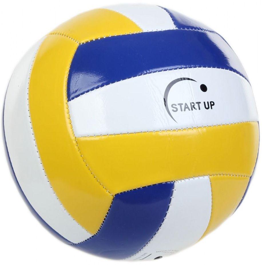 Мяч волейбольный для отдыха Start Up. E5111 N/C р5120335_navy/whiteМашинная сшивка: + Камера: резина, 60-65 г Размер: 5 Количество панелей: 18 Окружность: 68-69 см Материал: поливинилхлорид Рекомендации: Рекомендован для игр на природе и развлечений Вес: 250-270 г