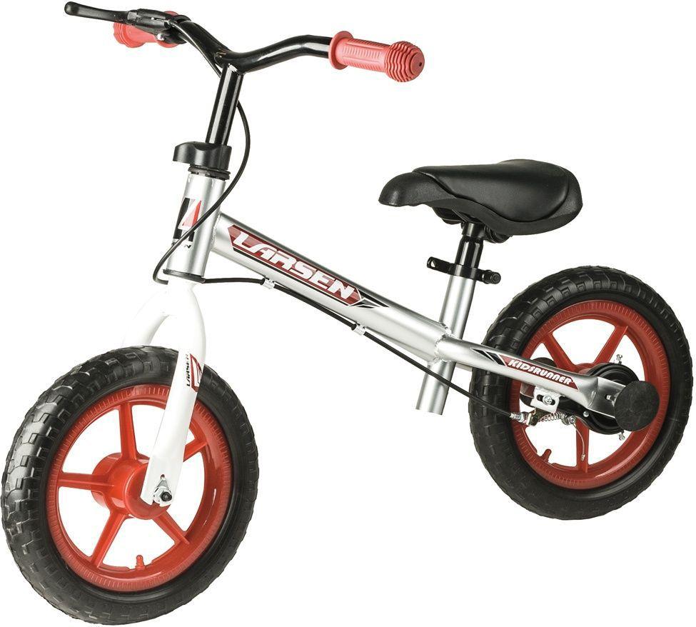 """Материал колес: полипропилен, EVA Максимальная масса пользователя: 20 кг Рама: углеродистая сталь Вилка: углеродистая сталь Размер колес: 12"""" Руль: полипропилен Тормоза: втулочные"""