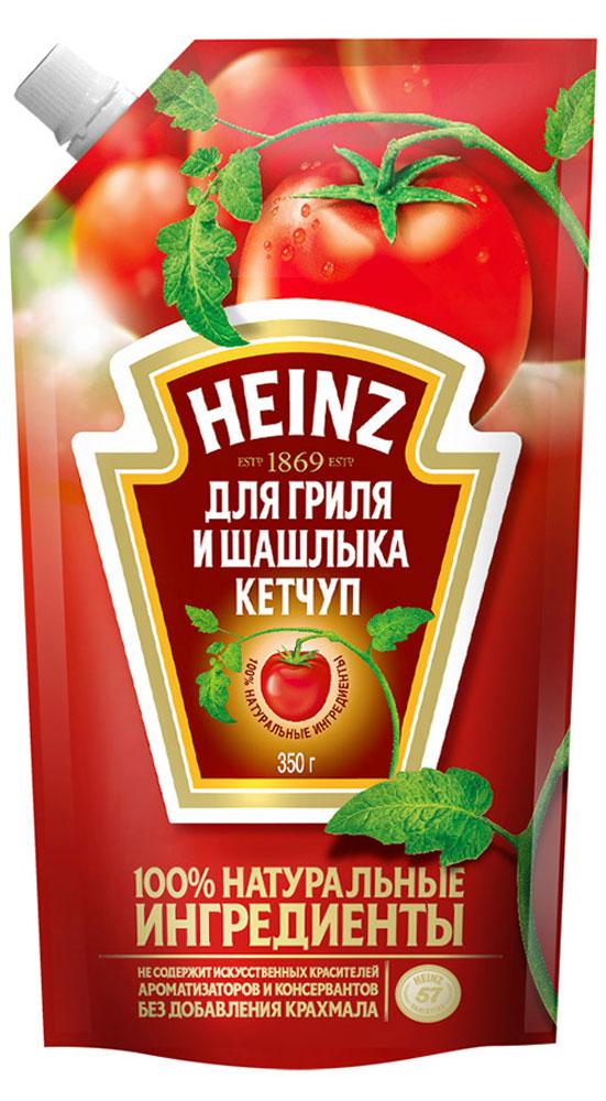 Heinz кетчуп для гриля и шашлыка, 350 г