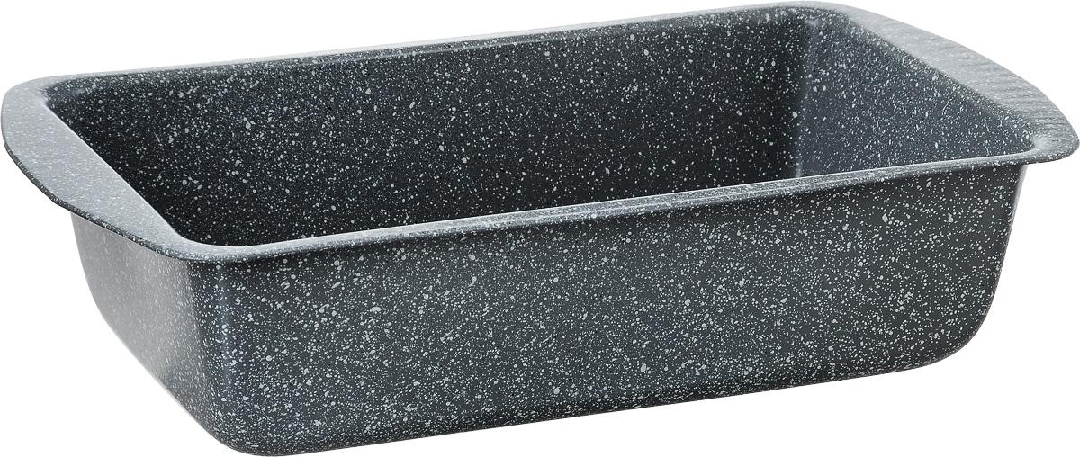 Форма для кекса Termico Granito, прямоугольная, с антипригарным покрытием, 28 х 14,7 х 7 см220437Форма для кекса Termico Granito выполнена из углеродистой стали с внутренним антипригарным покрытием. Углеродистая сталь - это прочный, легкий и долговечный материал, который прекрасно проводит тепло, помогая выпечке хорошо подходить и равномерно пропекаться, и гарантирует всегда великолепный результат. Слой антипригарного покрытия полностью устраняет пригорание кексов и их прилипание к стенкам и дну. Выпечка легко извлекается из формы. Экологически безопасное антипригарное покрытие не содержит PFOA, свинца и кадмия. Форма выдерживает температуру до 250°C. Изделие нельзя мыть в посудомоечной машине, нельзя использовать в микроволновой печи. Использовать только пластиковые аксессуары.Внутренний размер формы: 13,3 х 23,5 х 7 см.Размер формы с учетом ручек: 28 х 14,7 х 7 см.