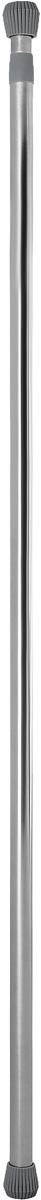 Карниз для ванной комнаты Tatkraft Loki телескопический, 130-240 см3DP-BTatkraft LOKI Карниз для ванной комнаты, телескопический, нержавеющая сталь, 130-240cm d25mm, механизм ТВИСТ для легкой установки без инструментов. Цвет: серебристый