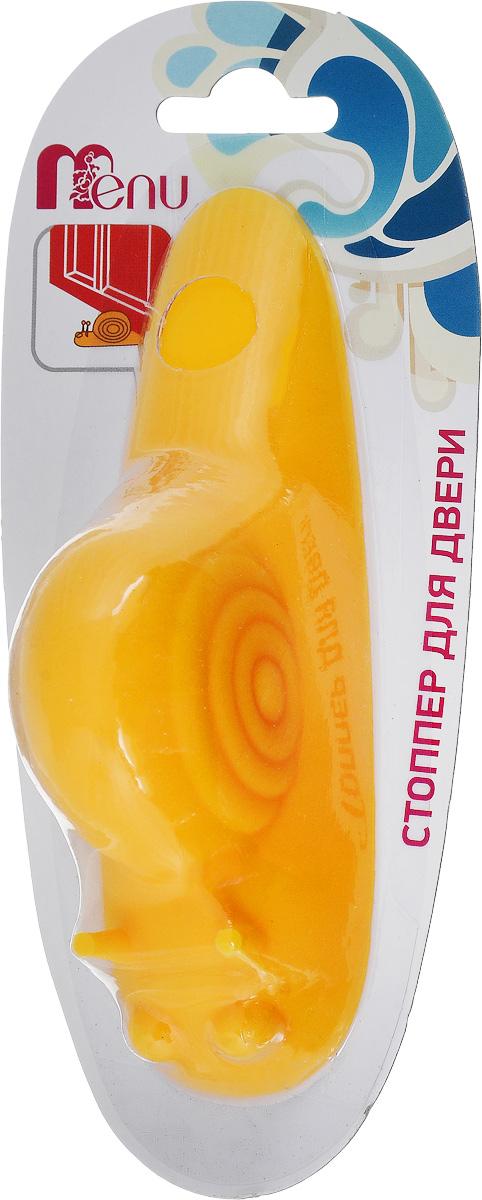 Стоппер для двери Menu Улитка, цвет: желтый, длина 13,6 см54 009312Стоппер для двери Menu Улитка изготовлен из силикона и выполнен в форме улитки. Стоппер поможет вам защитить двери и стены от различных повреждений, сколов и царапин. Его также можно использовать для фиксации двери в открытом положении. Изделие не требует специальной установки и впишется в любой интерьер.Мыть вручную в теплой воде с использованием щадящих моющих средств.