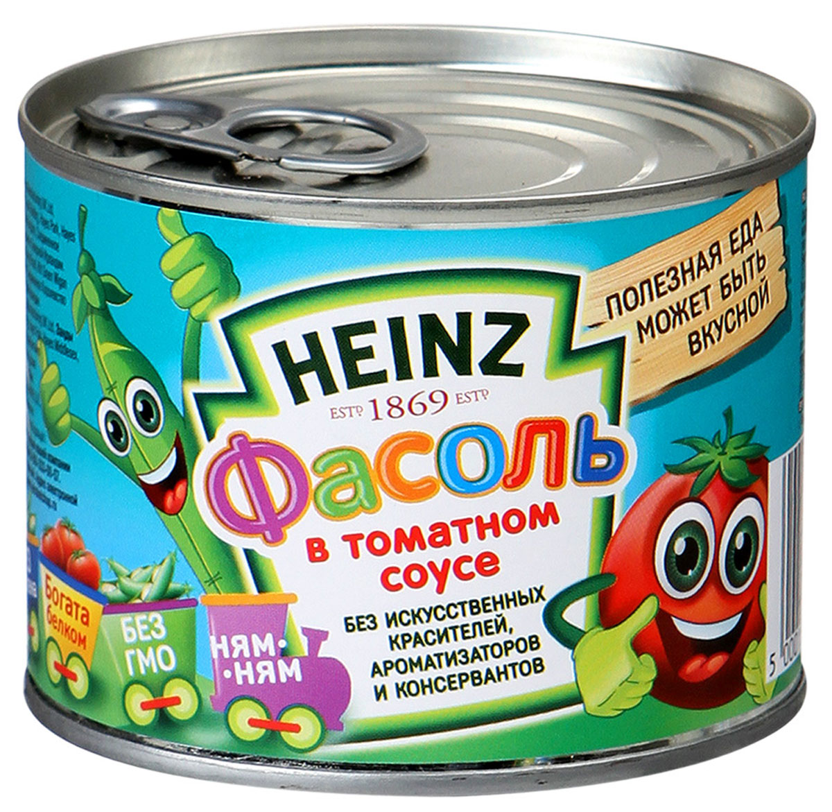 Heinz фасоль в томатном соусе, 200 г0120710Секрет фасоли Heinz в безупречном сочетании нежнейшего сорта фасоли и идеального соуса из средиземноморских томатов!Фасоль богата белком и клетчаткой, практически не содержит жиров. Это натуральный, полезный, легкий и высокопитательный продукт. Классика вкуса!Уважаемые клиенты! Обращаем ваше внимание, что полный перечень состава продукта представлен на дополнительном изображении.