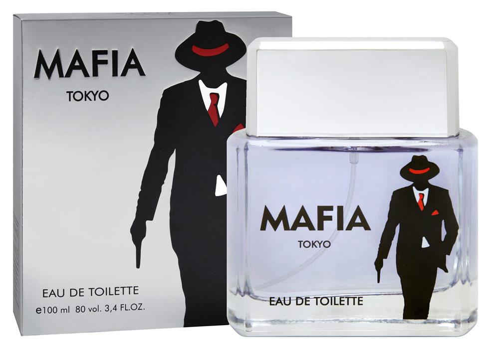 "Apple Parfums Туалетная вода ""Mafia Silver"" мужская, 100 мл"