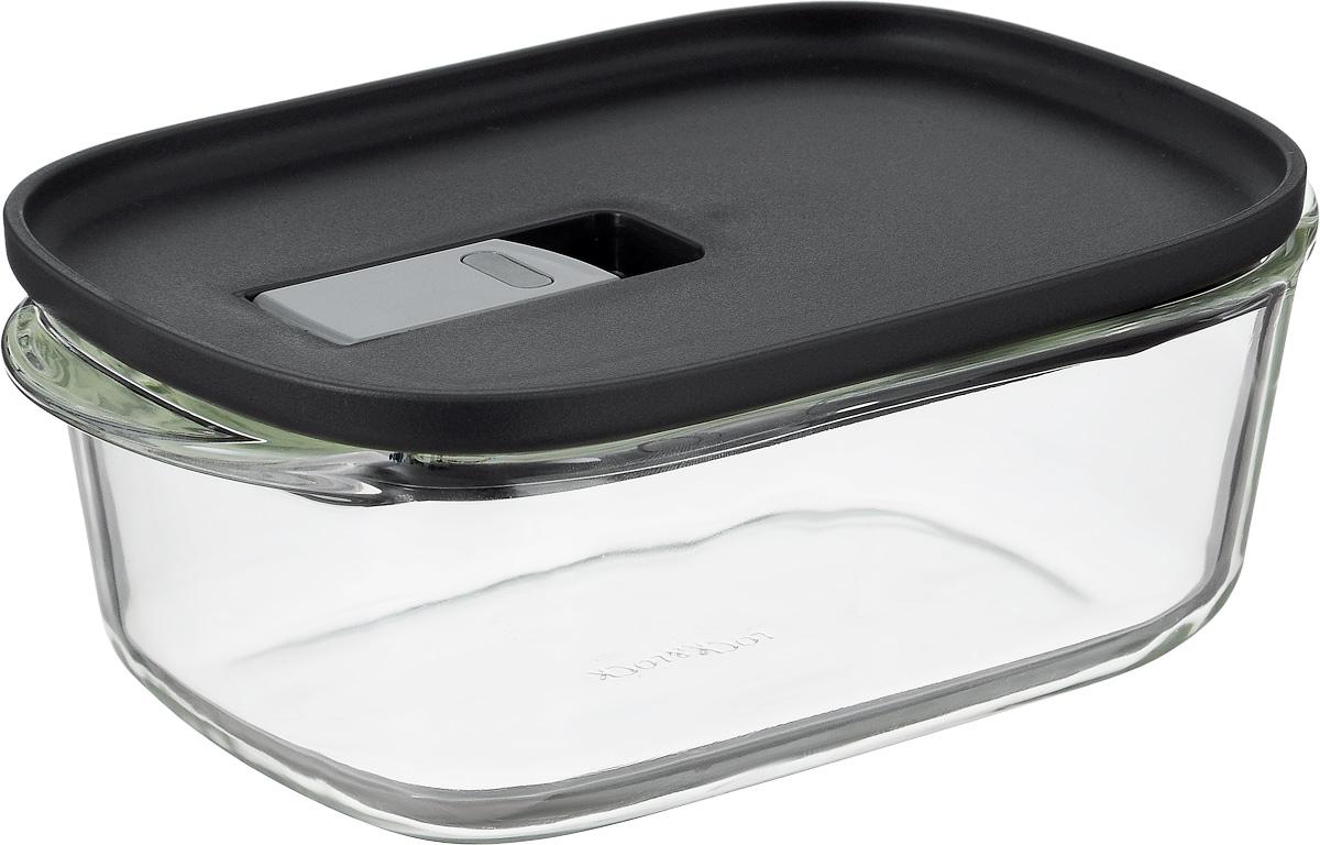 Контейнер пищевой Lock&Lock Glass, 890 млVT-1520(SR)Контейнер Lock&Lock Glass изготовлен из боросиликатного стекла, которое отличается высоким качеством и устойчиво даже при экстремальных температурах: от -100°C до +400°C. Контейнер оснащен двумя выступающими ручками. Термостойкая пластиковая крышка с силиконовой вставкой оснащена клапаном для герметичного закрытия. Контейнер Lock&Lock Glass удобен для ежедневного использования в быту.Можно мыть в посудомоечной машине и использовать в микроволновой печи.Ширина контейнера (с учетом ручек): 21 см.Внутренний размер контейнера: 11,5 х 21 см.Высота стенки контейнера: 6,5 см.Размер контейнера (с учетом крышки): 13 х 21 х 7,5 см.