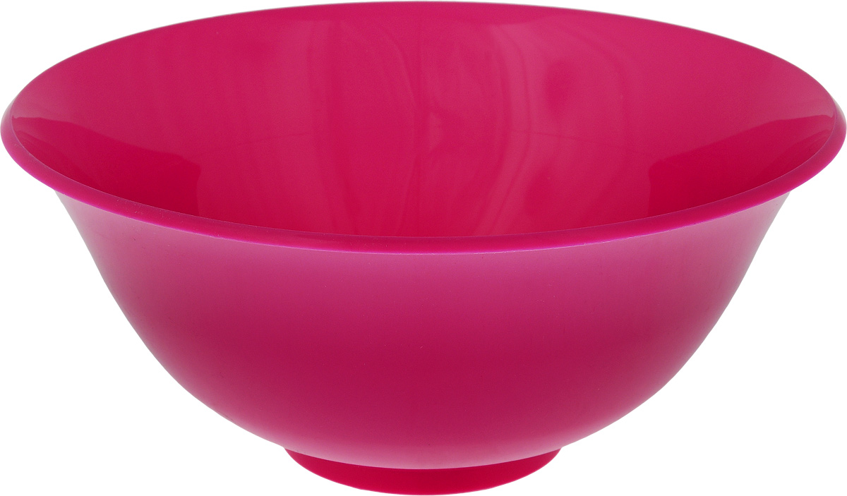 Салатник Idea, цвет: розовый, 1,5 лМ 1341_розовыйКруглый салатник Idea изготовлен из высококачественного пищевого полипропилена (пластика). Изделие предназначено для сервировки салатов, закусок и других блюд. Поверхность салатника гладкая и легко чистится. Такой салатник пригодится в любом хозяйстве. Объем: 1,5 л. Диаметр салатника (по-верхнему краю): 20 см. Высота салатника: 8,5 см.