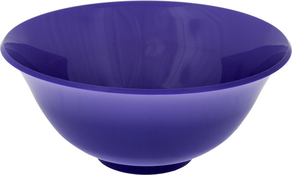 Салатник Idea, цвет: фиолетовый, 1,5 лОБЧ00000472_коричневыйКруглый салатник Idea изготовлен из высококачественного пищевого полипропилена (пластика). Изделие предназначено для сервировки салатов, закусок и других блюд. Поверхность салатника гладкая и легко чистится. Такой салатник пригодится в любом хозяйстве. Объем: 1,5 л. Диаметр салатника (по-верхнему краю): 20 см. Высота салатника: 8,5 см.