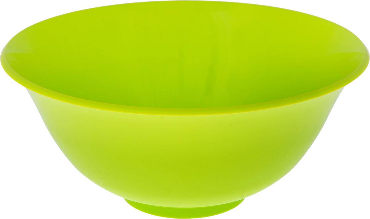 Салатник Idea, цвет: салатовый, 1,5 лG9563Круглый салатник Idea изготовлен из высококачественного пищевого полипропилена (пластика). Изделие предназначено для сервировки салатов, закусок и других блюд. Поверхность салатника гладкая и легко чистится. Такой салатник пригодится в любом хозяйстве. Объем: 1,5 л. Диаметр салатника (по-верхнему краю): 20 см. Высота салатника: 8,5 см.