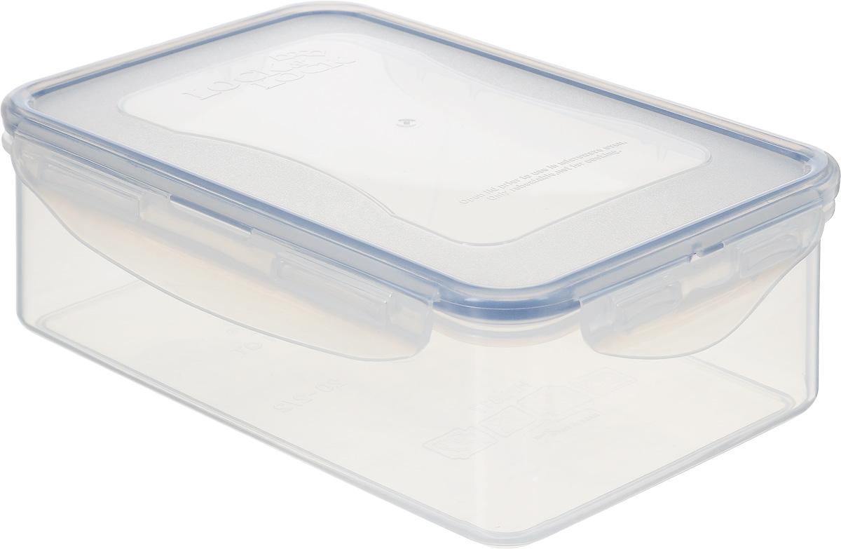 Контейнер пищевой Lock&Lock Classics, 1 л4630003364517Контейнер Lock&Lock Classics изготовлен из высококачественного пластика, который не содержит Бисфенол-А, не выделяет вредных веществ. Герметичная пластиковая крышка снабжена уплотнительной резинкой, надежно закрывается с помощью четырех защелок. Контейнер с абсолютной непроницаемостью воды, воздуха и любых запахов. Обеспечивает длительное сохранение свежести продуктов. Подходит для мытья в посудомоечной машине, хранения в холодильных и морозильных камерах, использования в микроволновых печах.