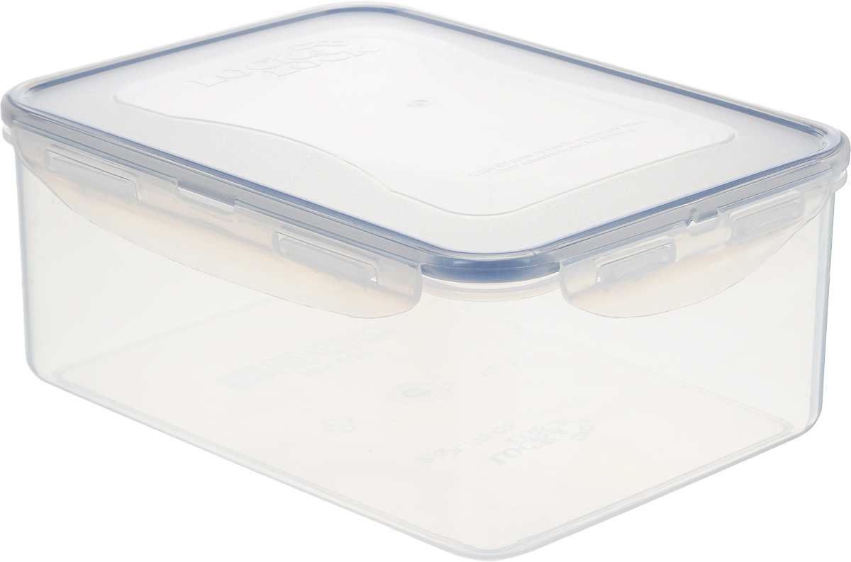 Контейнер пищевой Lock&Lock Classics, 2,3 лHPL825Контейнер Lock&Lock Classics изготовлен из высококачественного пластика, который не содержит Бисфенол-А, не выделяет вредных веществ. Герметичная пластиковая крышка снабжена уплотнительной резинкой, надежно закрывается с помощью четырех защелок. Контейнер с абсолютной непроницаемостью воды, воздуха и любых запахов. Обеспечивает длительное сохранение свежести продуктов. Подходит для мытья в посудомоечной машине, хранения в холодильных и морозильных камерах, использования в микроволновых печах.