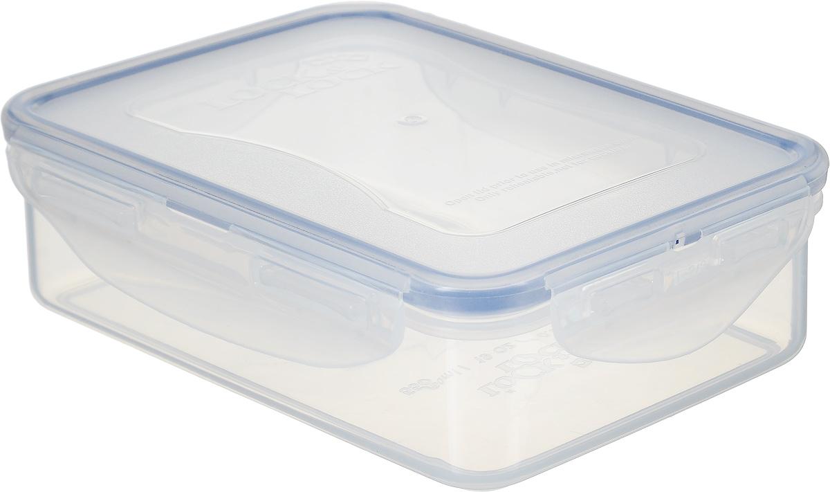 Контейнер пищевой Lock&Lock Classics, 550 мл21395599Контейнер Lock&Lock Classics изготовлен из высококачественного пластика, который не содержит Бисфенол-А, не выделяет вредных веществ. Герметичная пластиковая крышка снабжена уплотнительной резинкой, надежно закрывается с помощью четырех защелок. Контейнер с абсолютной непроницаемостью воды, воздуха и любых запахов. Обеспечивает длительное сохранение свежести продуктов. Подходит для мытья в посудомоечной машине, хранения в холодильных и морозильных камерах, использования в микроволновых печах.
