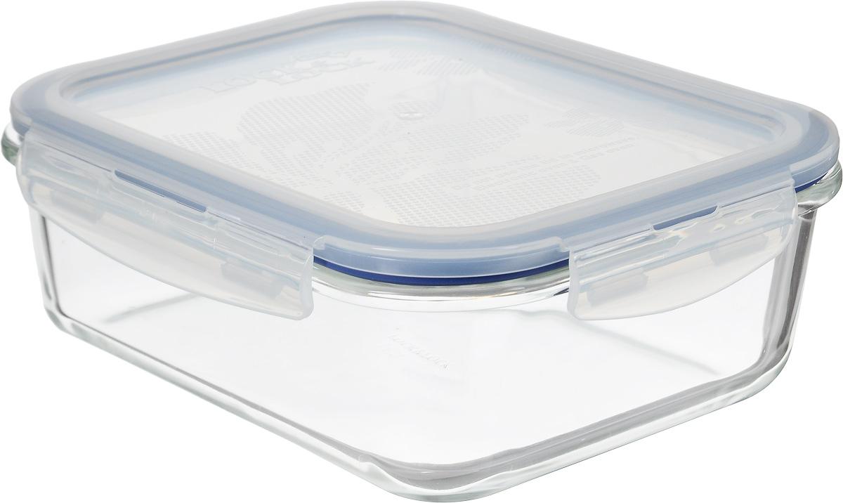 Контейнер пищевой Lock&Lock Glass, 1 лFA-5125 WhiteКонтейнер Lock&Lock Glass выполнен из боросиликатного стекла, которое выдерживает сильное нагревание (до +400°С) и резкое охлаждение. Усиленная ударопрочность (при механических повреждениях стекло не разлетается на множество осколков и не имеет острых краев), стойкость к деформации и окраске. Герметичная пластиковая крышка снабжена уплотнительной силиконовой прокладкой и надежно закрывается с помощью четырех защелок. Подходит для мытья в посудомоечной машине, хранения в холодильных и морозильных камерах, использования в микроволновых печах.