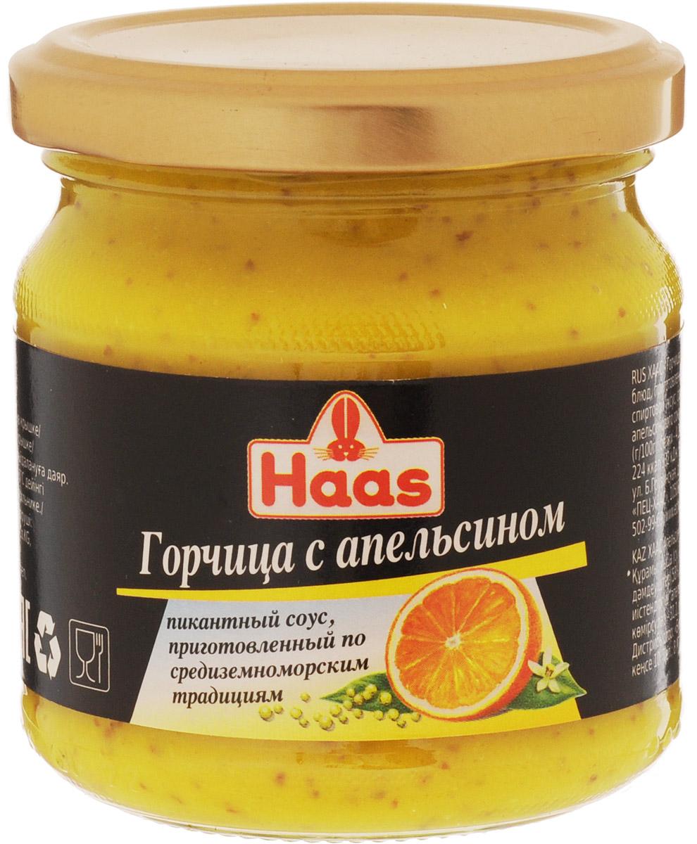 Haas горчица с апельсином, 210 г52135Горчица с апельсином приготовлена с любовью специально для вас по старинным средиземноморским рецептам. Наслаждайтесь этой пряной горчицей с фруктовыми нотками с птицей, рыбой, продуктами, приготовленными на гриле. Прекрасная заправка для салатов.Уважаемые клиенты! Обращаем ваше внимание, что полный перечень состава продукта представлен на дополнительном изображении.