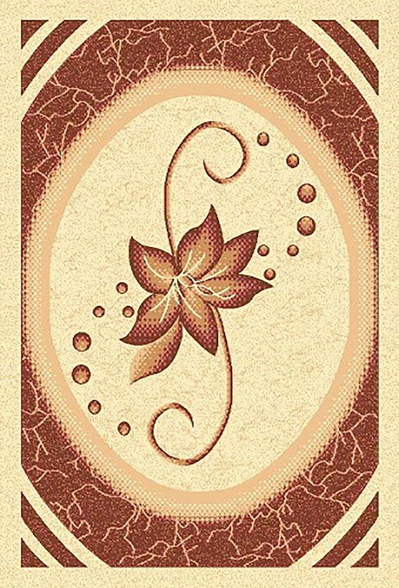 Ковер Mutas Carpet Карвинг, цвет: коричневый, 80 х 150 см. 1827BR2011103114570274-0120Ковер Mutas Carpet Карвинг изготовлен из прочного синтетического материала heat-set, улучшенного варианта полипропилена (эта нить получается в результате его дополнительной обработки). Полипропилен износостоек, нетоксичен, не впитывает влагу, не провоцирует аллергию. Структура волокна в полипропиленовых коврах гладкая, поэтому грязь не будет въедаться и скапливаться на ворсе. Практичный и износоустойчивый ворс не истирается и не накапливает статическое электричество. Ковер обладает хорошими показателями теплостойкости и шумоизоляции. Оригинальный рисунок позволит гармонично оформить интерьер комнаты, гостиной или прихожей. За счет невысокого ворса ковер легко чистить. При надлежащем уходе синтетический ковер прослужит долго, не утратив ни яркости узора, ни блеска ворса, ни упругости. Самый простой способ избавить изделие от грязи - пропылесосить его с обеих сторон (лицевой и изнаночной). Влажная уборка с применением шампуней и моющих средств не противопоказана. Хранить рекомендуется в свернутом рулоном виде.