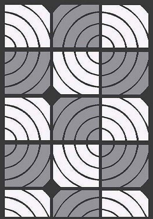 Ковер Mutas Carpet А.Коттон Фешен, цвет: темно-серый, 120 х 180 см. 20342013021217368874-0120Ковер Mutas Carpet, изготовленный из высококачественных материалов, прекрасно подойдет для любого интерьера. За счет прочного ворса ковер легко чистить. При надлежащем уходе синтетический ковер прослужит долго, не утратив ни яркости узора, ни блеска ворса, ни упругости. Самый простой способ избавить изделие от грязи - пропылесосить его с обеих сторон (лицевой и изнаночной). Влажная уборка с применением шампуней и моющих средств не противопоказана. Хранить рекомендуется в свернутом рулоном виде.
