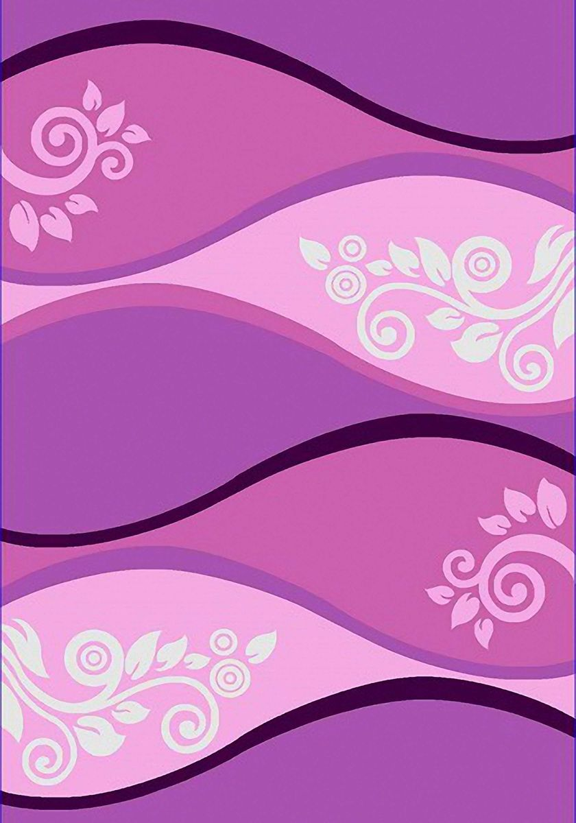 Ковер Emirhan Карвинг Империал Колор, цвет: сиреневый, 80 х 150 см. 203420130212174846S03301004Ворс: 100% полипропилен хит-сет, ручная выстрижка ворса