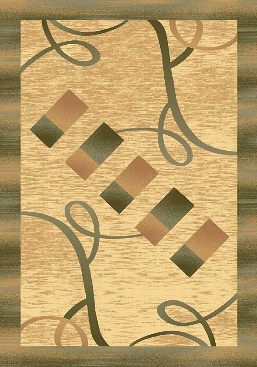 Ковер Emirhan Карвинг Империал, цвет: светло-бежевый, 60 х 110 см. 20342013021217657674-0120Ворс: 100% полипропилен хит-сет, ручная выстрижка ворса