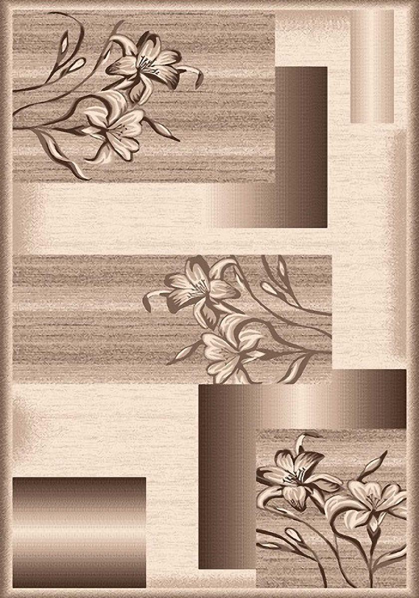 Ковер Mutas Carpet Мега, цвет: бежевый, 60 х 110 см. 203420130212179144ES-412Ковер Mutas Carpet, изготовленный из высококачественного материала, прекрасно подойдет для любого интерьера. За счет прочного ворса ковер легко чистить. При надлежащем уходе синтетический ковер прослужит долго, не утратив ни яркости узора, ни блеска ворса, ни упругости. Самый простой способ избавить изделие от грязи - пропылесосить его с обеих сторон (лицевой и изнаночной). Влажная уборка с применением шампуней и моющих средств не противопоказана. Хранить рекомендуется в свернутом рулоном виде.