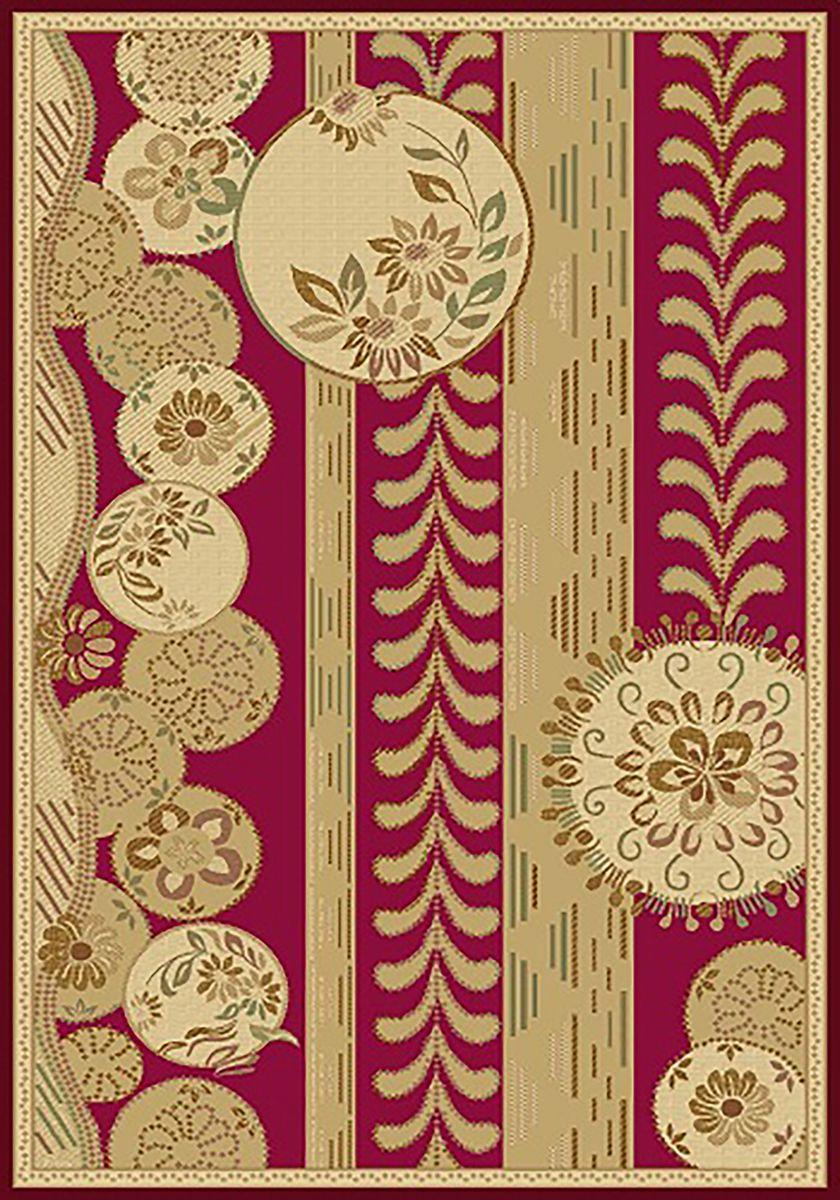 Ковер Mutas Carpet Антик Хом Люрекс, цвет: красный, 80 х 150 см. 2555RE20111206102518FS-91909Ковер Mutas Carpet, изготовленный из высококачественных материалов, прекрасно подойдет для любого интерьера. За счет прочного ворса ковер легко чистить. При надлежащем уходе синтетический ковер прослужит долго, не утратив ни яркости узора, ни блеска ворса, ни упругости. Самый простой способ избавить изделие от грязи - пропылесосить его с обеих сторон (лицевой и изнаночной). Влажная уборка с применением шампуней и моющих средств не противопоказана. Хранить рекомендуется в свернутом рулоном виде.