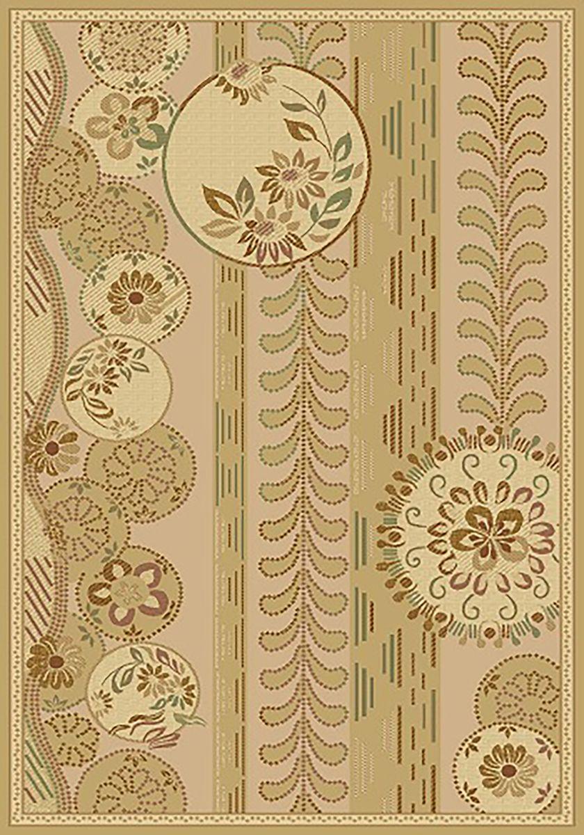 Ковер Mutas Carpet Антик Хом Люрекс, цвет: светло-бежевый, 80 х 150 см. 2555SA20111206102523FS-91909Ковер Mutas Carpet, изготовленный из высококачественных материалов, прекрасно подойдет для любого интерьера. За счет прочного ворса ковер легко чистить. При надлежащем уходе синтетический ковер прослужит долго, не утратив ни яркости узора, ни блеска ворса, ни упругости. Самый простой способ избавить изделие от грязи - пропылесосить его с обеих сторон (лицевой и изнаночной). Влажная уборка с применением шампуней и моющих средств не противопоказана. Хранить рекомендуется в свернутом рулоном виде.