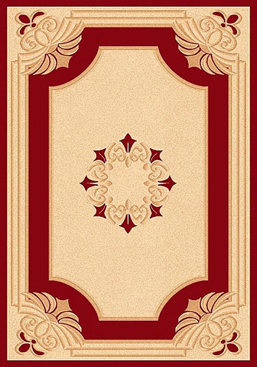 Ковер Mutas Carpet Карвинг, цвет: красный, 80 х 150 см. 70634941619Ковер Mutas Carpet Карвинг изготовлен из прочного синтетического материала heat-set, улучшенного варианта полипропилена (эта нить получается в результате его дополнительной обработки). Полипропилен износостоек, нетоксичен, не впитывает влагу, не провоцирует аллергию. Структура волокна в полипропиленовых коврах гладкая, поэтому грязь не будет въедаться и скапливаться на ворсе. Практичный и износоустойчивый ворс не истирается и не накапливает статическое электричество. Ковер обладает хорошими показателями теплостойкости и шумоизоляции. Оригинальный рисунок позволит гармонично оформить интерьер комнаты, гостиной или прихожей. За счет невысокого ворса ковер легко чистить. При надлежащем уходе синтетический ковер прослужит долго, не утратив ни яркости узора, ни блеска ворса, ни упругости. Самый простой способ избавить изделие от грязи - пропылесосить его с обеих сторон (лицевой и изнаночной). Влажная уборка с применением шампуней и моющих средств не противопоказана. Хранить рекомендуется в свернутом рулоном виде.