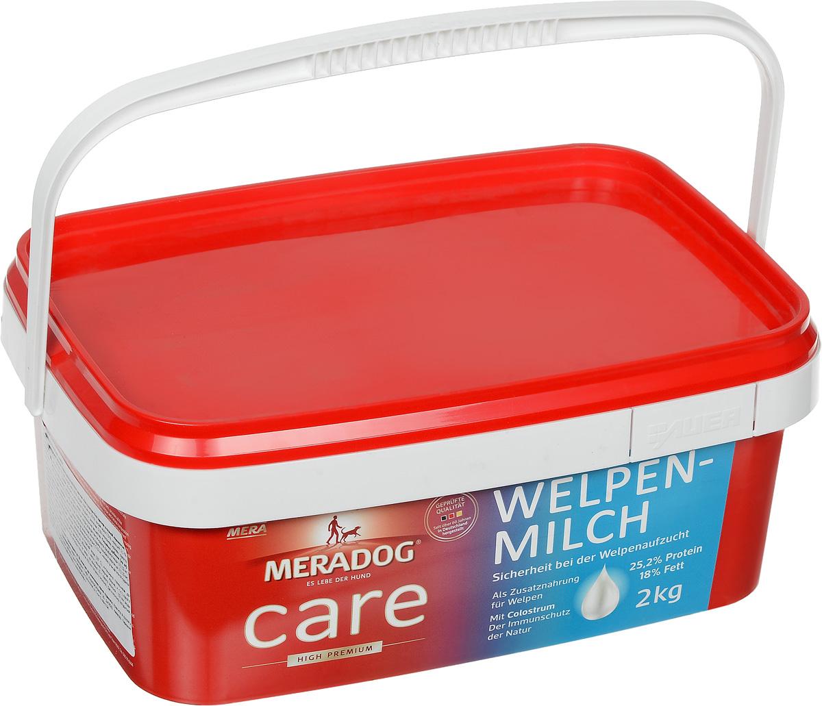 Молоко сухое для щенков Meradog Welpenmilch, 2 кг00000000046Молоко для щенков Meradog Welpenmilch - лучшая замена сучьего молока. Это полноценная еда для щенков. Сухое молоко Meradog Welpenmilch можно использовать как прикорм для щенков в период кормления.ОсобенностиMeradog Welpenmilch:1) Обогащен молозивом - это вещество, вырабатываемое молочными железами животного в первые 3 - 5 дней после родов. Оно является ценнейшим продуктом, так как содержит иммуноглобулины, минеральные вещества, витамины и факторы роста. Благодаря этому ингредиенту у щенка формируется сильный природный иммунитет.2) Специально подобранные жиры и масла обеспечивают щенка ненасыщенными жирными кислотами, необходимыми для поддержания жизненно важных функций организма. Высокое содержание витаминов и микроэлементов завершает сбалансированную формулу питательных веществ молока для щенков.3) Произведено и упаковано в Германии.Состав: молоко и молочные продукты (включая 0,1% молозива коровы, сухого, насыщенного иммуноглобулинами), масла и жиры, злаки, минеральные вещества.Товар сертифицирован.