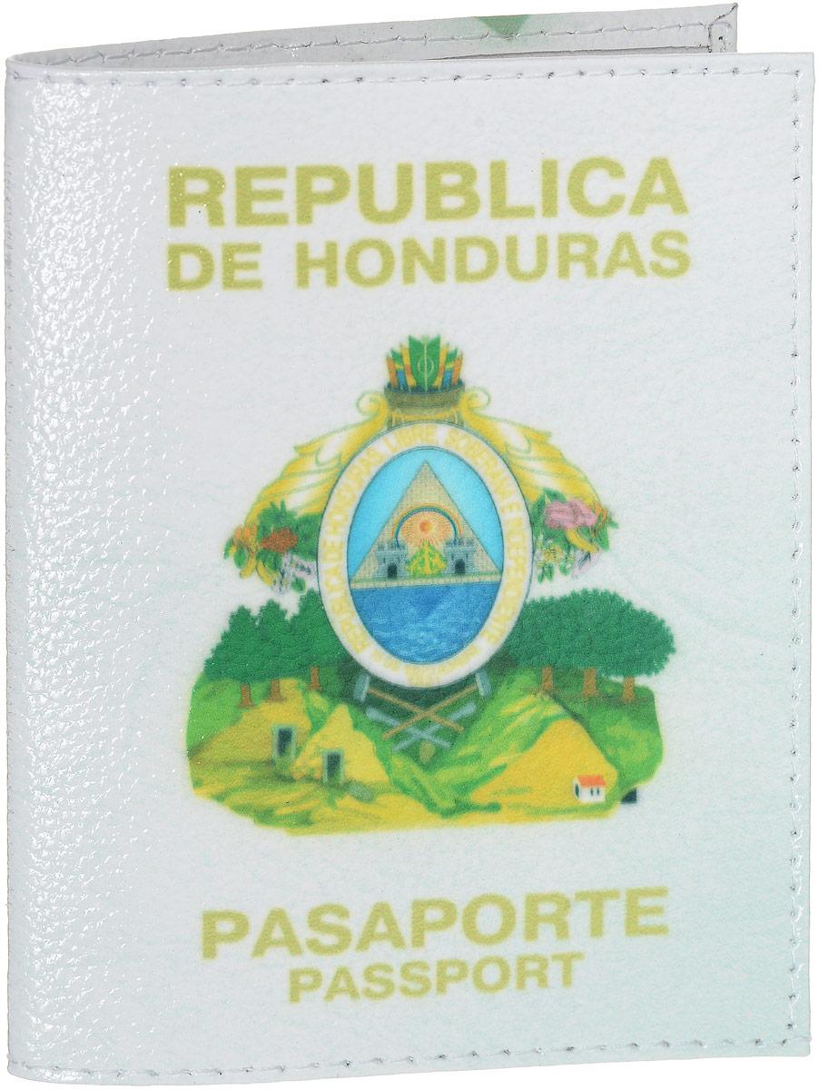 Обложка на паспорт Эврика Гондурас, цвет: белый, желтый, зеленый. 94242PS-GL-0043Обложка для паспорта от Evruka- оригинальный и стильный аксессуар, который придется по душе истинным модникам и поклонникам интересного и необычного дизайна.Качественная обложка выполнена из легкого и прочного ПВХ, который надежно защищает важные документы от пыли и влаги. Рисунок нанесён специальным образом и защищён от стирания. Изделие раскладывается пополам. Внутри размещены два накладных кармашка из прозрачного ПВХ. Простая, но в то же время стильная обложка для паспорта определенно выделит своего обладателя из толпы и непременно поднимет настроение. А яркий современный дизайн, который является основной фишкой данной модели, будет радовать глаз.