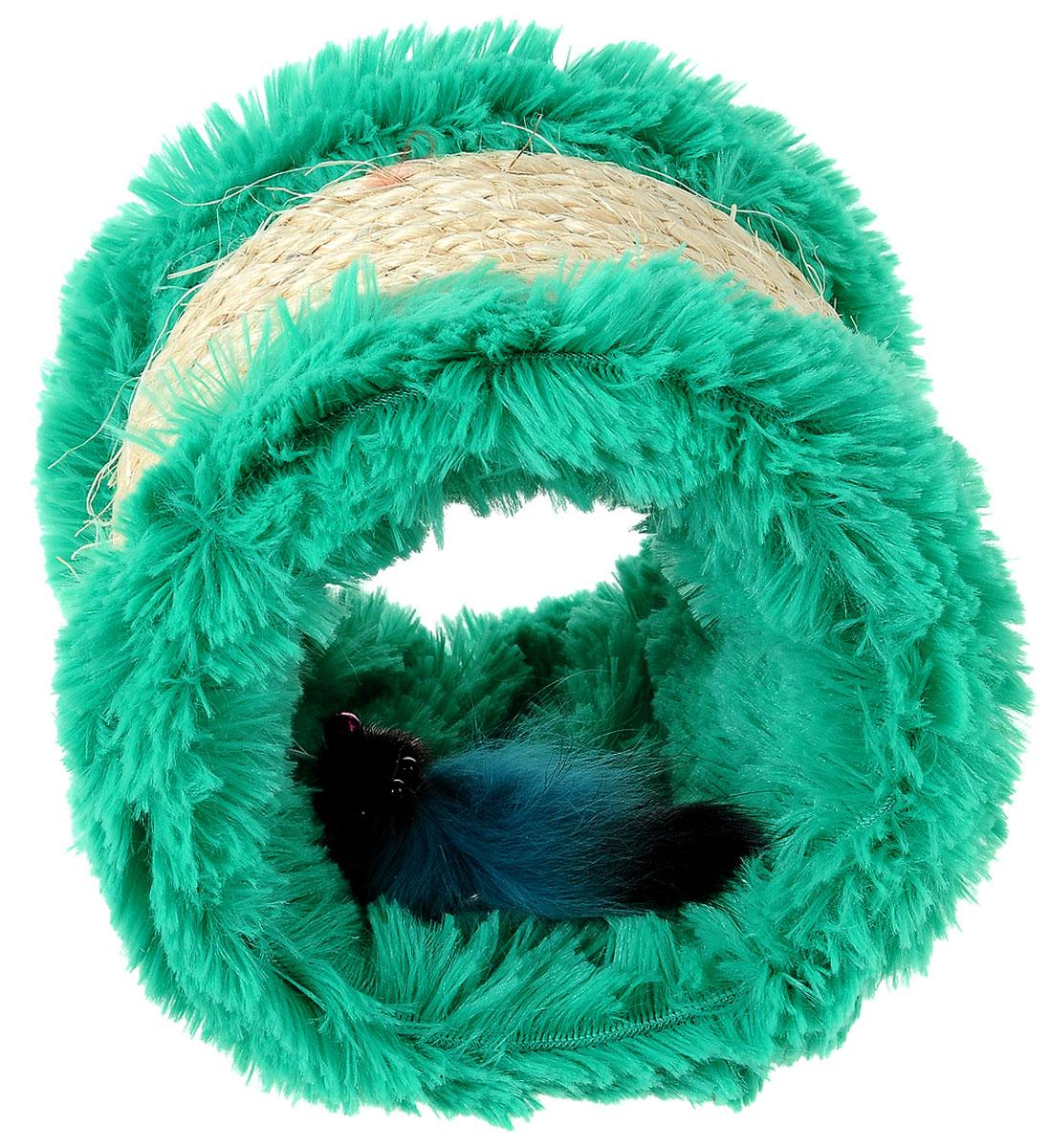Когтеточка Zoobaloo, с игрушкой, высота 12 см336Оригинальная когтеточка разработана компанией Zoobaloo в виде цилиндра из сизаля и текстиля. Внутри когтеточки расположена мышка на резинке. Такой когтеточкой можно не только поточить коготки, но и весело поиграть, гоняя по полу лапкой или покусывая зубами. Если вы хотите сделать вашей кошке по-настоящему шикарный подарок - приобретите этот аксессуар, совместив приятное с полезным. Когтеточки - обязательный аксессуар для личной гигиены кошек, который помогает животным избавиться от мешающихся шелушащихся слоев когтя, причиняющих дискомфорт подушечкам лап. Кроме того волокна сизаля - натуральный растительный продукт, который не только является очень крепким и стойким к повреждениям, но так же имеет отталкивающее бактерии покрытие, благодаря чему абсолютно безвреден для кошек.Высота игрушки: 12 см.Диаметр игрушки: 13 см.