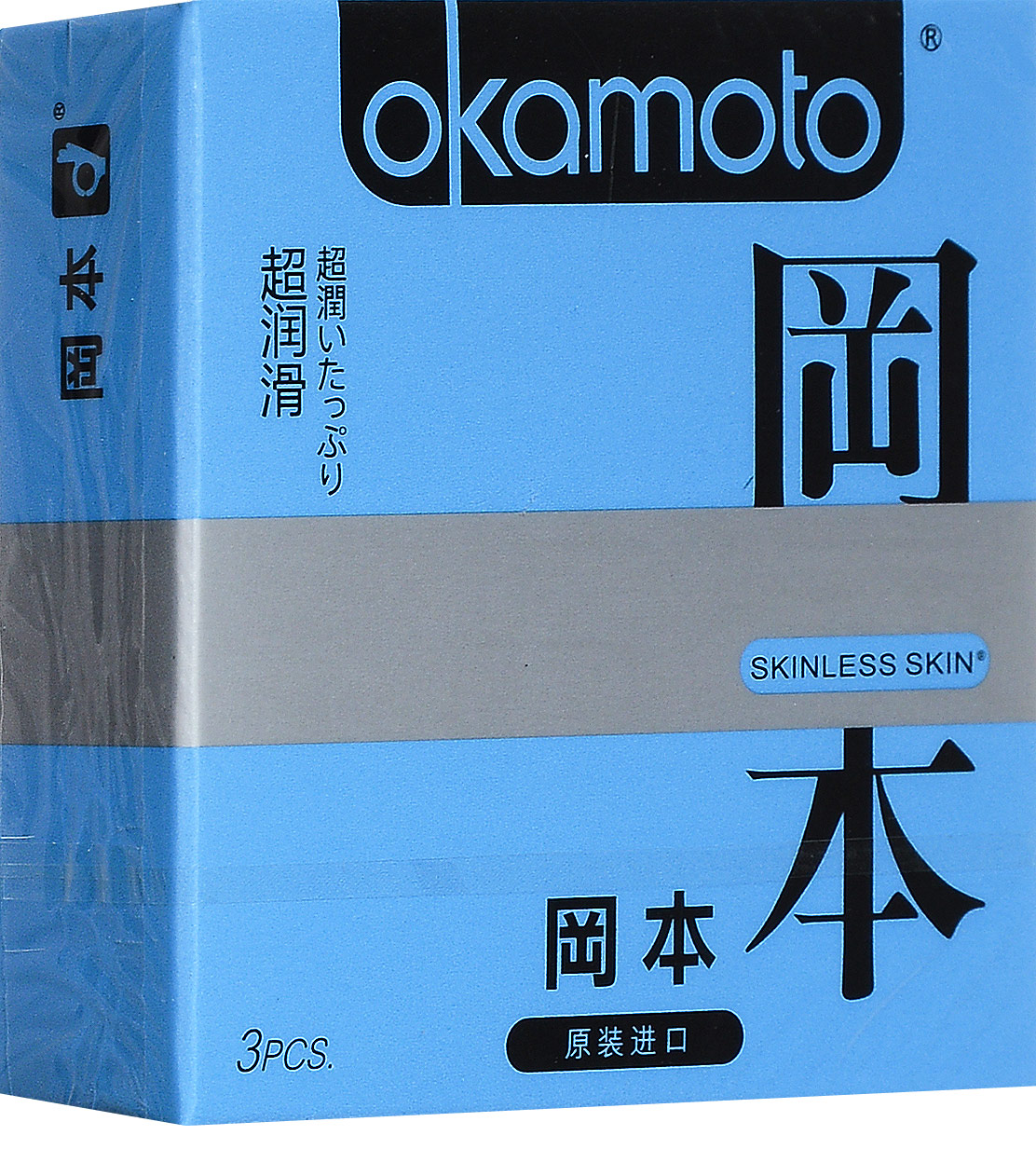 Презервативы Okamоto Skinless Skin Super Lubricative 3 шт c обильной смазкойSC-FM20104Презервативы Okamоto Skinless Skin Super Lubricative 3 шт c обильной смазкой