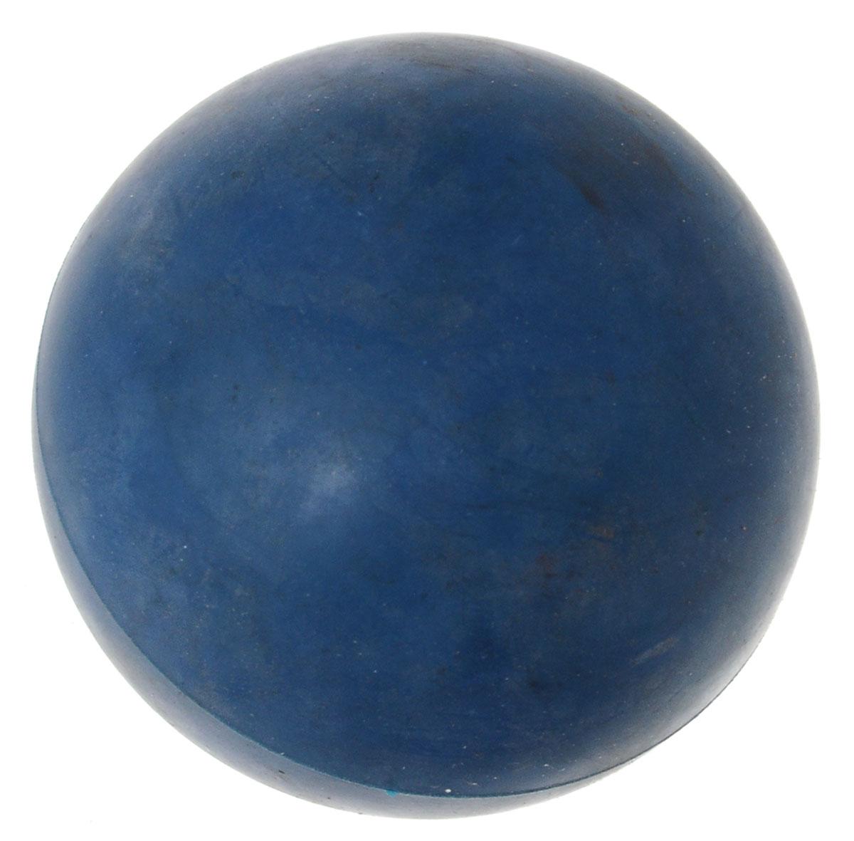 Игрушка для собак ЗооМарк Мячик, цвет: синий, диаметр 6,5 см0120710Игрушка для собак ЗооМарк, изготовленная из высококачественной резины, выполнена в виде мячика. Изделие устойчиво к разгрызанию. Такая игрушка порадует вашего любимца, а вам доставит массу приятных эмоций, ведь наблюдать за игрой всегда интересно и приятно. А в отсутствие людей собака будет ощущать себя комфортно и не портить ваши вещи, стены и мебель. Игрушка не наносит повреждений деснам и зубам собаки, нежно очищая их. Диаметр: 6,5 см.