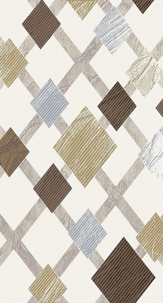 Ковер Mutas Carpet Кармина, цвет: бежевый, 80 х 150 см. 203420130212181261ES-412Ковер Mutas Carpet, изготовленный из высококачественного материала, прекрасно подойдет для любого интерьера. За счет прочного ворса ковер легко чистить. При надлежащем уходе синтетический ковер прослужит долго, не утратив ни яркости узора, ни блеска ворса, ни упругости. Самый простой способ избавить изделие от грязи - пропылесосить его с обеих сторон (лицевой и изнаночной). Влажная уборка с применением шампуней и моющих средств не противопоказана. Хранить рекомендуется в свернутом рулоном виде.