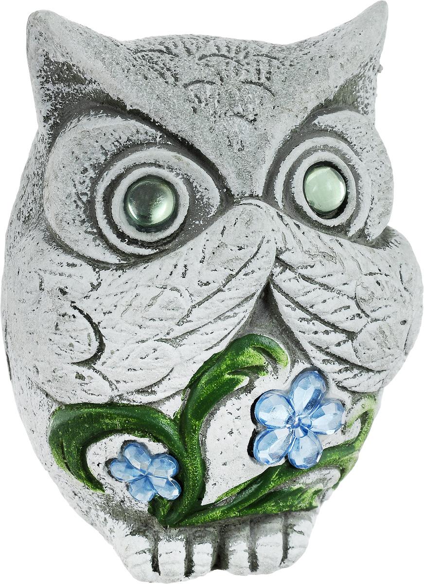Фигурка декоративная Лилло Сова, цвет: серый, зеленый, голубой, высота 12 см10850/1W GOLD IVORYДекоративная фигурка Сова станет необычным аксессуаром для вашего интерьера и создаст незабываемую атмосферу. Фигурка изготовлена из керамики в виде миниатюрной совы. Эта очаровательная вещь послужит отличным подарком близкому человеку, родственнику или другу, а также подарит приятные мгновения и окунет вас в лучшие воспоминания.