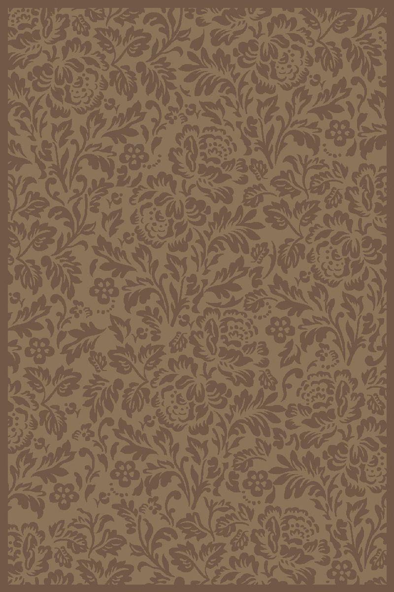 Ковер ART Carpets Платин, цвет: коричневый, 120 х 180 см. 203420130212182902U210DFВорс полипропилен хит-сет, акрил