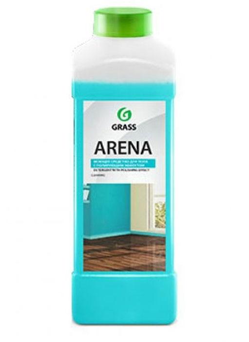 Моющее средство для пола Grass Arena, нейтральное, 1 л218001Средство Grass Arena предназначено для мытья и ухода за полом и другими видами моющихся поверхностей. Благодаря безопасной формуле идеально подходит для паркета, ламината, натурального камня, кафеля, лакированных и других водостойких поверхностей. Придает блеск, не оставляет разводов и налета. Обладает полирующим эффектом, обновляет внешний вид. Экономичен, благодаря концентрированной формуле.Товар сертифицирован.