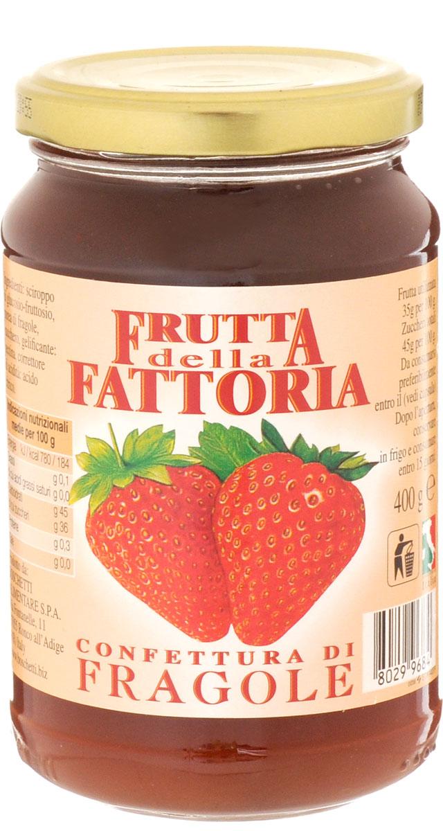 Boschetti джем клубничный, 400 гJV4Классический итальянский джем изготовлен из свежей клубники, собранной в период полной спелости. Именно поэтому как только вы откроете крышку, почувствуете насыщенный аромат и вкус спелых ягод! Прекрасно подходит для сладких начинок или как дополнение к разным блюдам: от мороженого и йогуртов до блинчиков.Уважаемые клиенты! Обращаем ваше внимание, что полный перечень состава продукта представлен на дополнительном изображении.