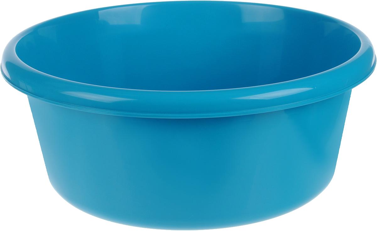 Таз Idea, круглый, цвет: бирюзовый, 11 лК2.1_оранжевыйТаз Idea выполнен из прочного пластика. Он предназначен для стирки и хранения разных вещей. Также в нем можно мыть фрукты. Такой таз пригодится в любом хозяйстве.Диаметр таза (по верхнему краю): 33 см. Высота стенки: 15 см.